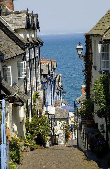 Clovely, North Devon, England