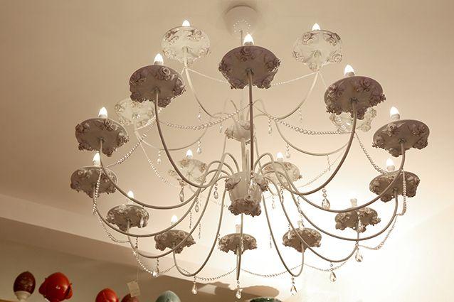 Sono orgoglioso di questo lampadario che potete vedere da noi in showroom