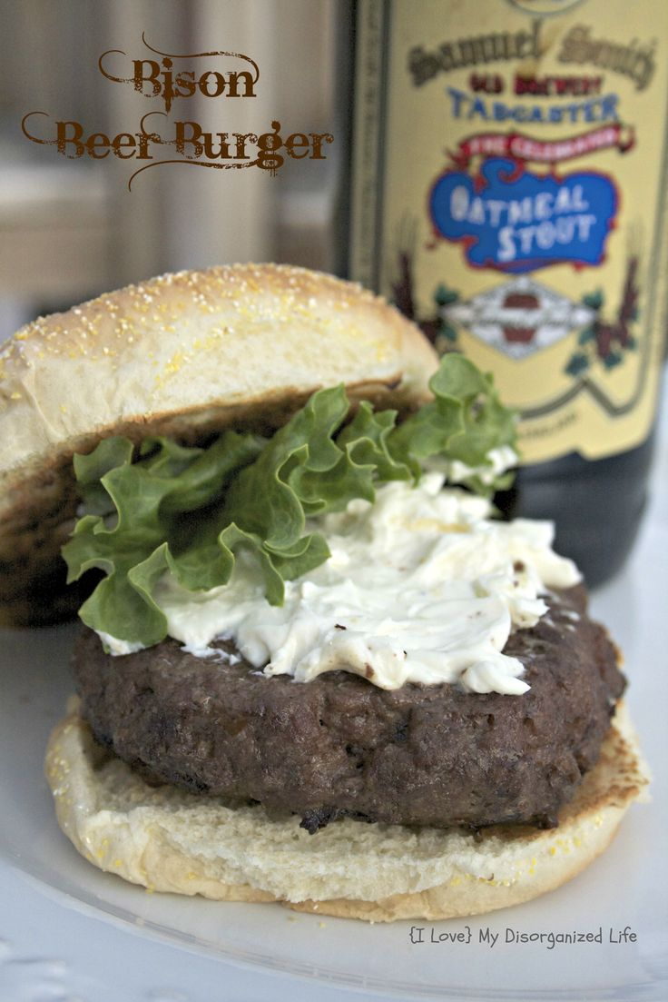 1000+ images about Bison Burger Recipes on Pinterest | Burger toppings ...
