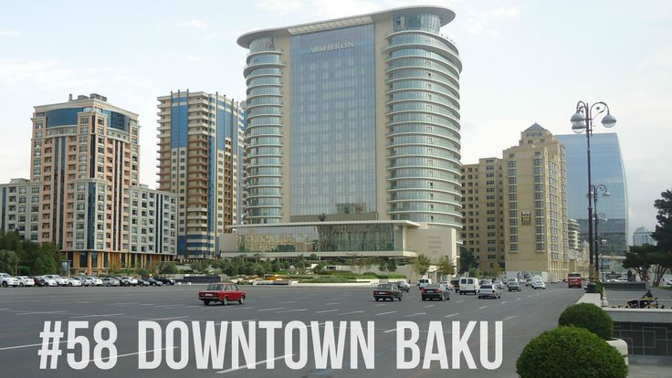 In #downtown #Baku, #Azerbaijan.