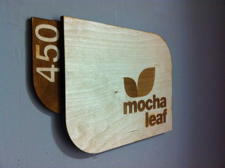 modizmo art and design laser cut sign for my office