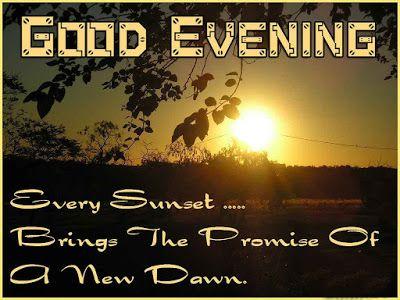 good evening sms picture messages