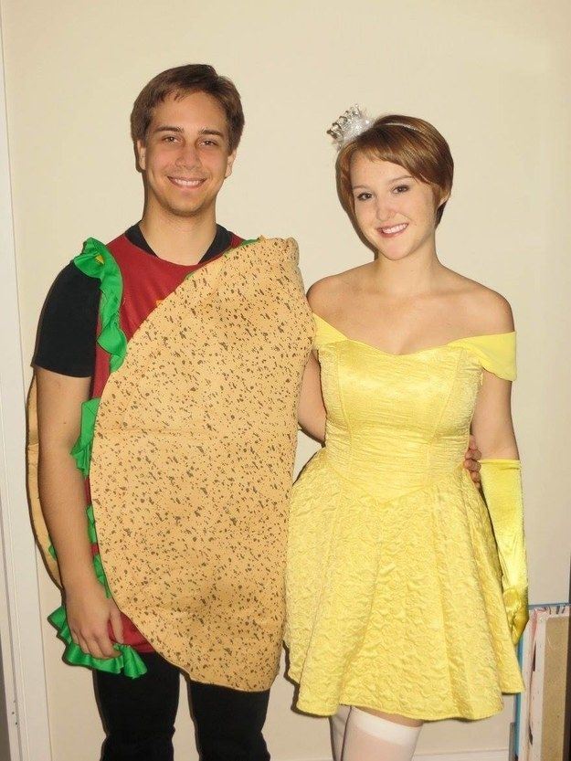 Taco Belle: | 19 Hilariously Clever Halloween Costumes
