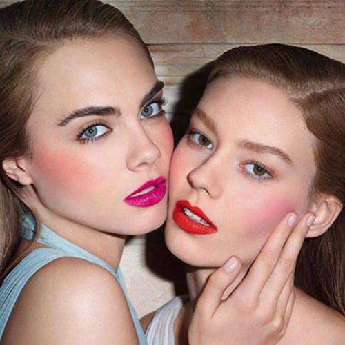 Art imitates real life for Cara Delevingne's new YSL pictures. Click for more.