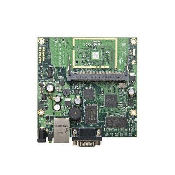 RouterBoard Mikrotik RB411AH 680 MHz 64 MB 1xEth minPCI L4  84,88 € Se sei un appassionato d'informatica ed elettronica, ti piace stare al passo con la più recente tecnologia senza lasciarti sfuggire nessun dettaglio, acquista RouterBoard Mikrotik RB411AH 680 MHz 64 MB 1xEth minPCI L4al miglior prezzo.S0200356RouterBoard Mikrotik RB411AH 680 MHz 64 MB 1xEth minPCI L4