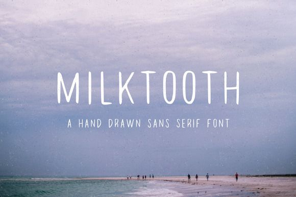 Check out Milktooth by Jackrabbit Creative on Creative Market