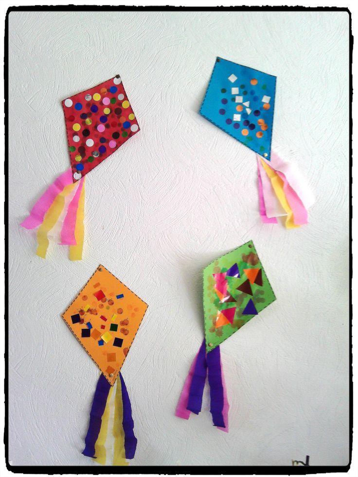 25 parasta ideaa cerf volant enfant pinterestiss scrapbooking origami le cerf ja leikekirjat. Black Bedroom Furniture Sets. Home Design Ideas