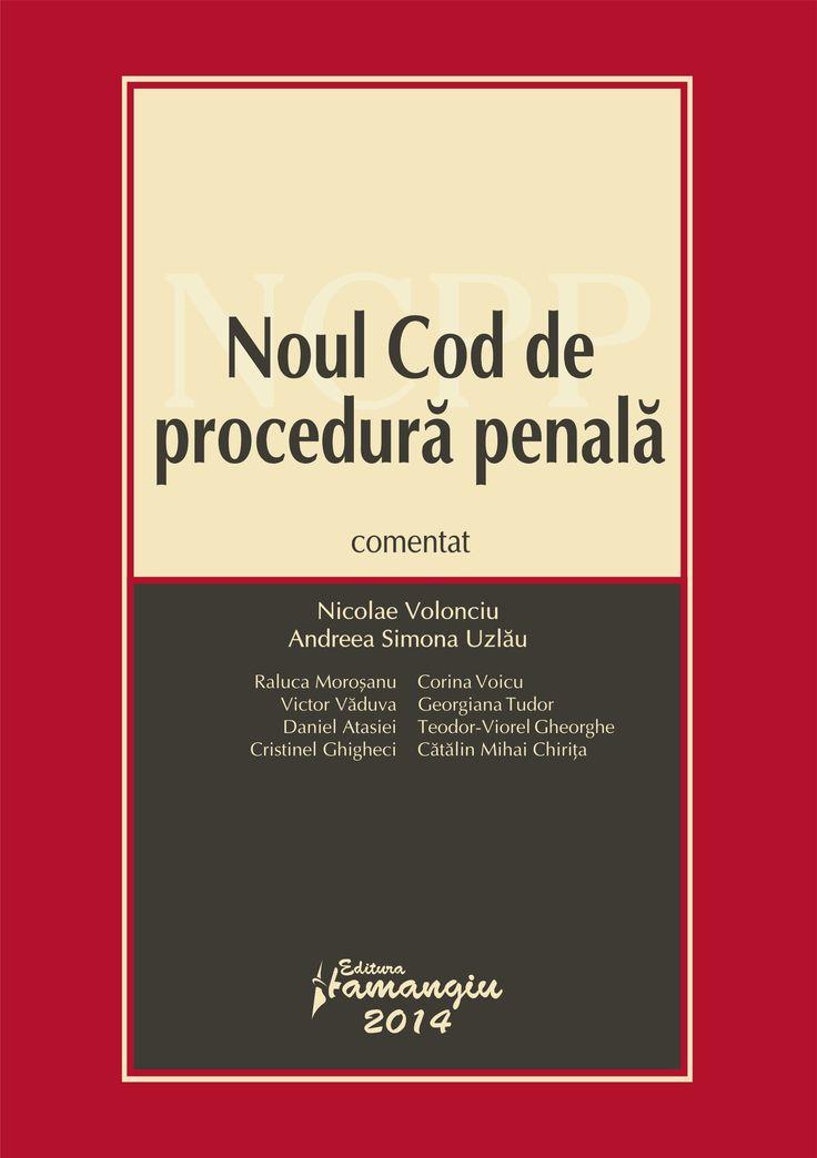 Noul Cod de procedura penala comentat