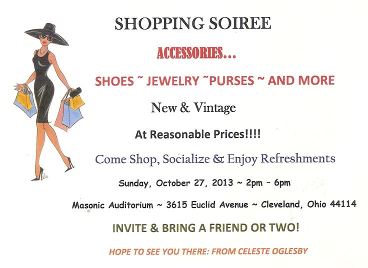 Accessory vendors brought together to create a fun shopping experience for attendees