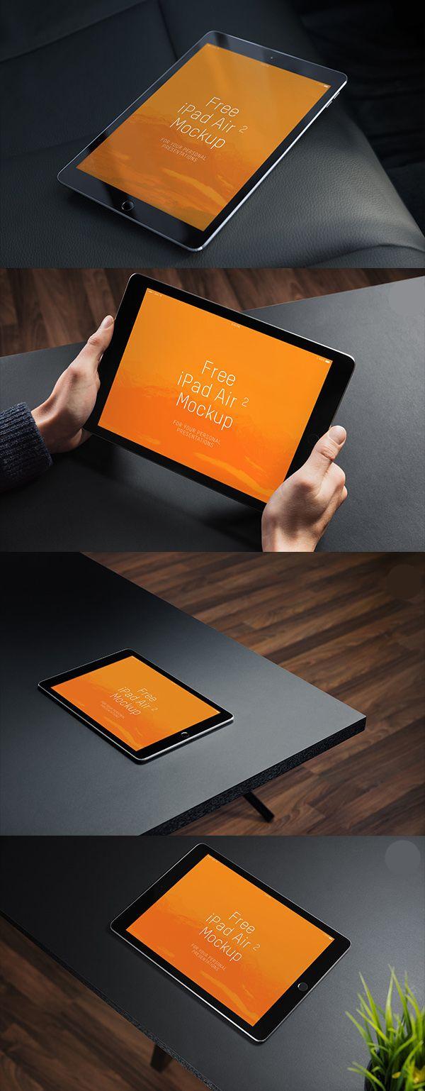 Free iPad Air 2 Mockups