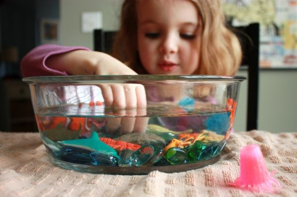 underwater adventure - sensory play #diy @Amy Lyons Sackrison - Re-pinned by #PediaStaff.  Visit http://ht.ly/63sNt for all our pediatric therapy pins