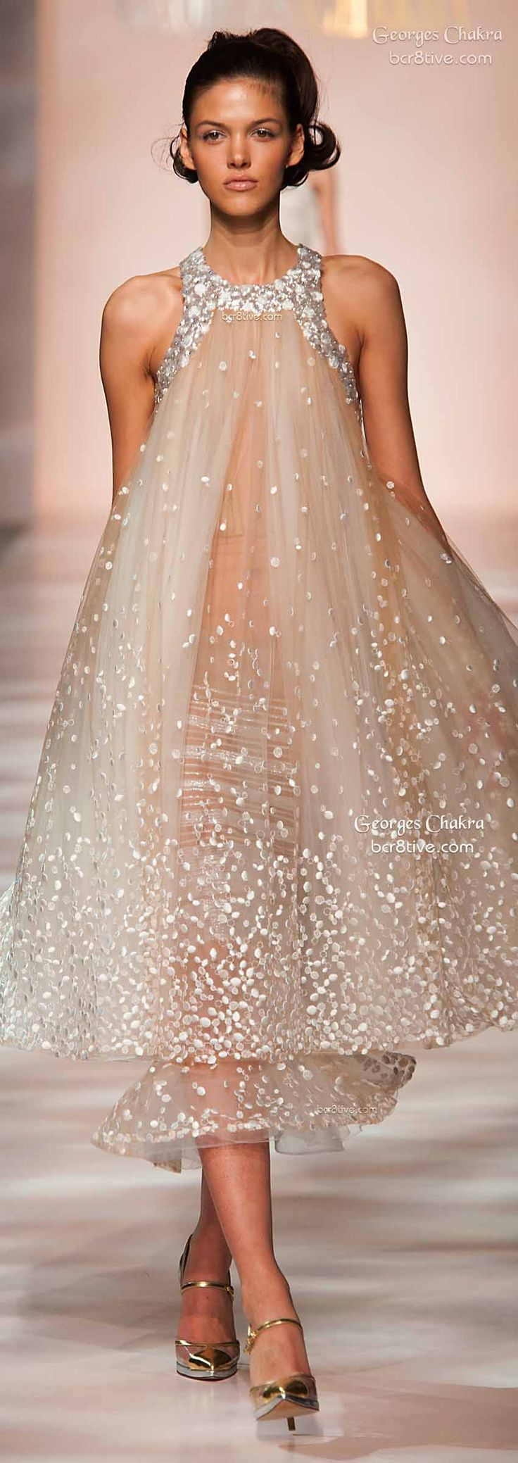 Christmas wedding dress mishaps - Georges Chakra Spring 2015
