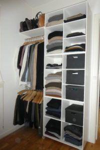 Mit soveværelse – DIY garderobeopbevaring | VintageLiv