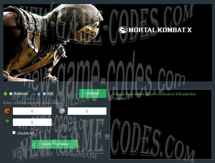 Mortal Kombat X ios HACK CHEATS [SOULS-KOINS] Android-iOS - Imgur