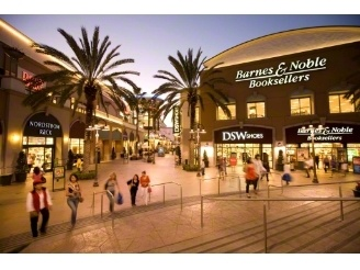 Shopping at Metro Point in Costa Mesa.