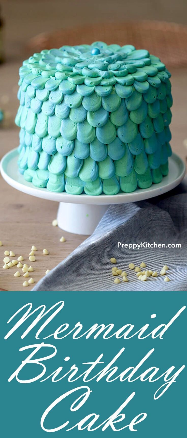 how to make a mermaid tail cake