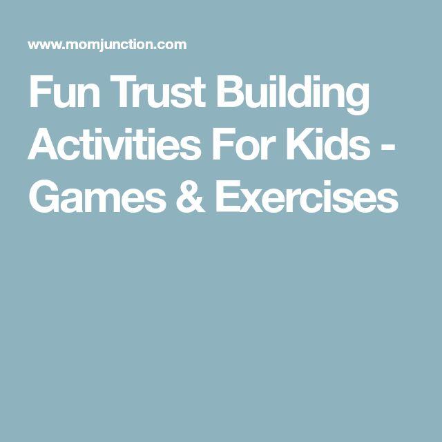 Fun Trust Building Activities For Kids - Games & Exercises