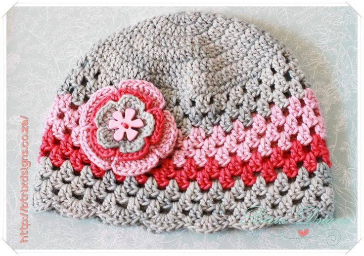 Granny Style Beanie by btrixdsigns | Crocheting Pattern - Looking for your next project? You're going to love Granny Style Beanie by designer btrixdsigns. - via @Craftsy
