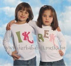 Ik-rek, kézműves ruhák ikreknek, www.ikerbababolt.meska.hu