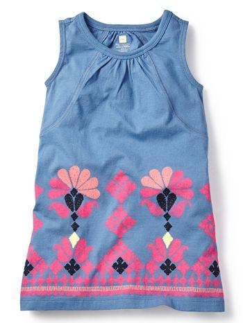 Tea Collection Mahanadi Chata Dress available at www.tinysoles.com! #TinySoles