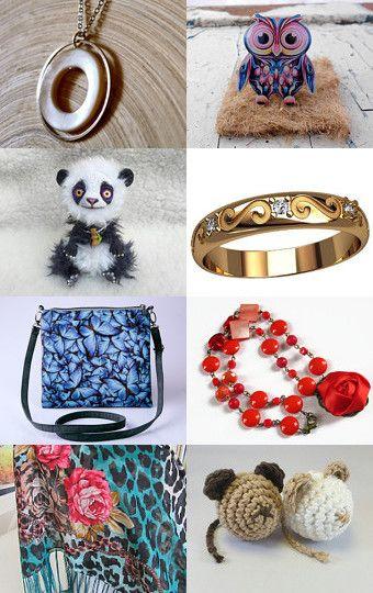 My Panda was added to Trendy July 4 by Mehmed Fatih on Etsy--Pinned with TreasuryPin.com
