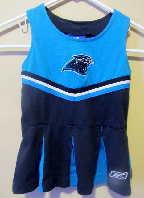 Reebok Carolina Panthers Cheerleader outfit , Infant 24 months - Football-NFL