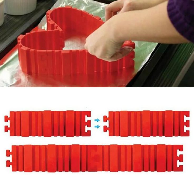 4pcs Snake Food Grade Silicone Cake Mold Magic Bake Mould Tools Sales Online #2 - Tomtop