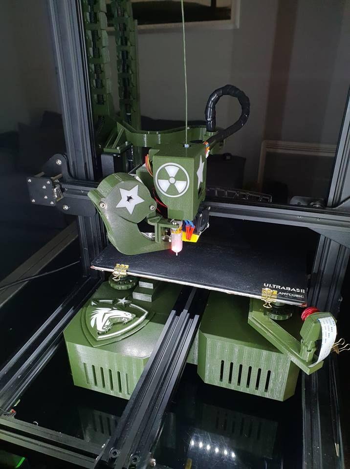 New Standalone Cr10 Cr10s Tornado En Etude By Razorbac Thingiverse 3d Printer 3d Printing Tornado