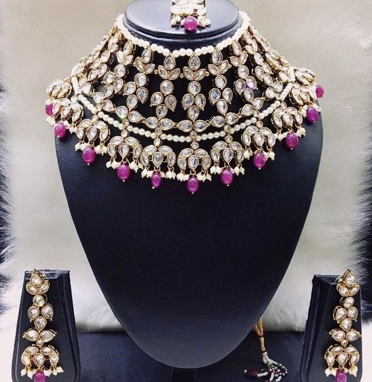 Royal Polki Necklace Set