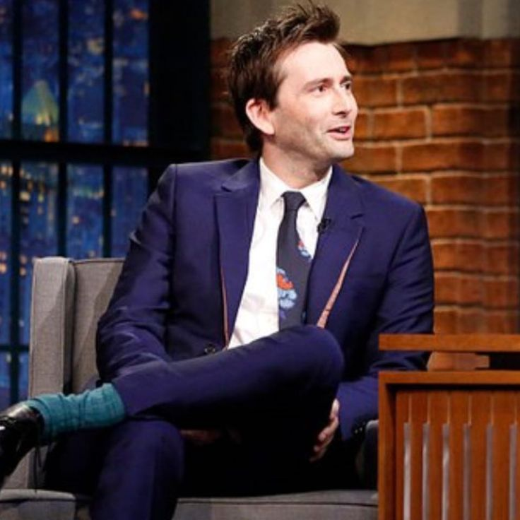 VIDEO AND PHOTOS: David Tennant Guests On The Late Show With Seth Meyers