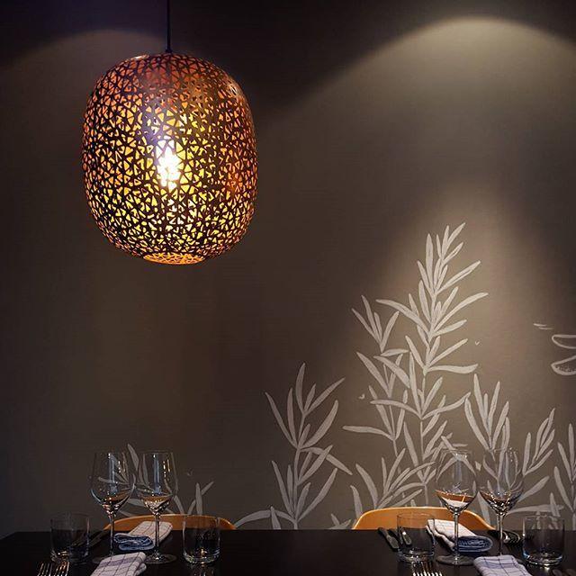 Orissa - by Rydéns | Restaurant Sinne Helsinki |  #byrydens #byrydéns #orissa #sessaklighting #sessak #riippuvalaisin #valaisin #luminaire #ravintolasinne #sinnehelsinki #visitfinland #visithelsinki #restaurant #restaurang #interior #inredning #etuovisisustus #interior4all #scandinaviandesign #interior_design#Light#Hanginglamp