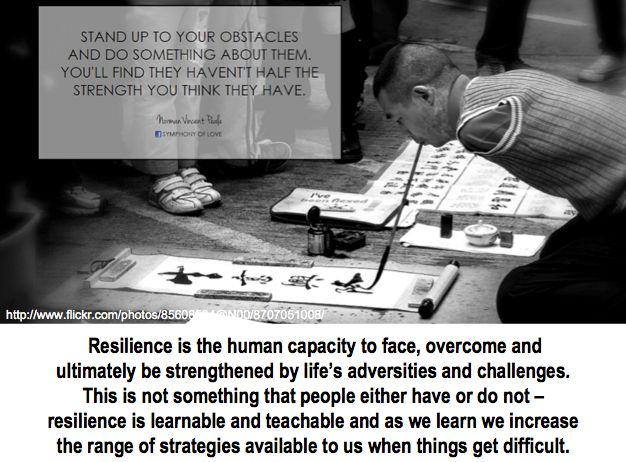 The other 21st century skills - Resilience