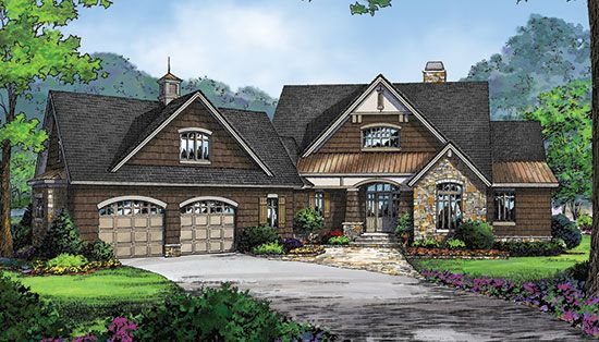 Plan Of The Week Over 2500 Sq Ft The Keaton Plan 1318