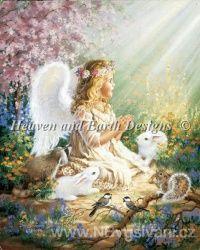HAED - An Angels Spirit (Aida 18ct)