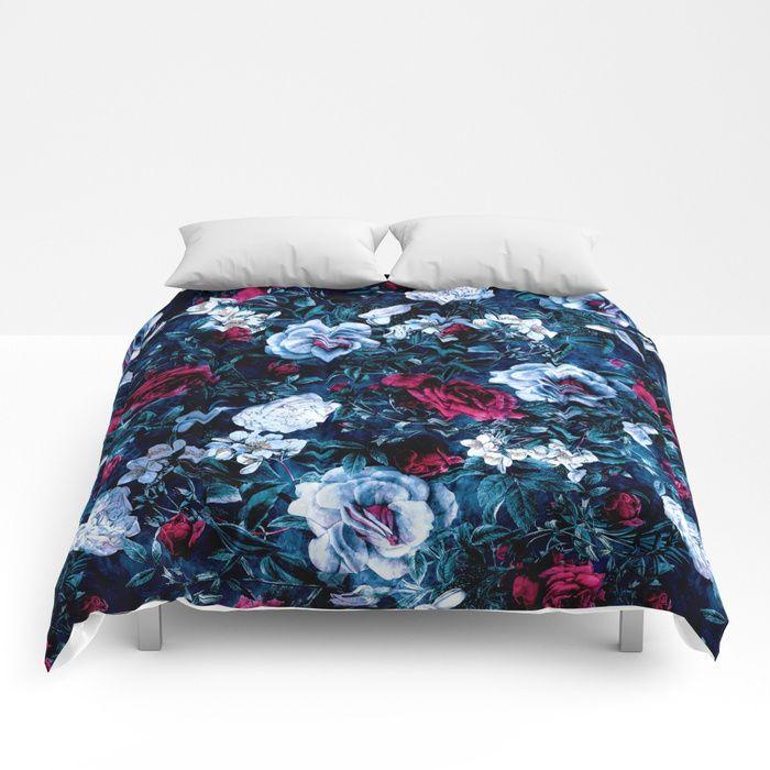 #floral #duvetcover #bedroom #homedecor