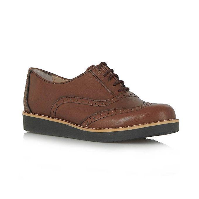 EXE ταμπά δερμάτινα παπούτσια τύπου oxford   Tsakiris Mallas