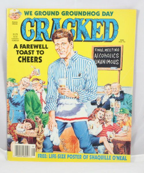 Cracked Magazine 282 by cebcollectibles on Etsy, $5.00