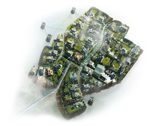 #Réseaux. Des réseaux semblables aux réseaux naturels. Relier la source d'énergie thermique et ses utilisateurs en toute fiabilité requiert un système à la fois rapide, #durable et #efficace. C'est grâce aux réseaux que l'on peut satisfaire les besoins en énergie de divers endroits: il n'y a pas de meilleure référence que la nature pour distribuer l'énergie...