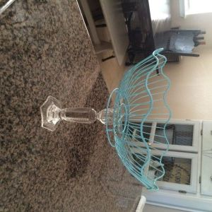 DIY lemon basket stand #blogpost #diy #crafty #cute #blogmom www.thelovelymamat.com