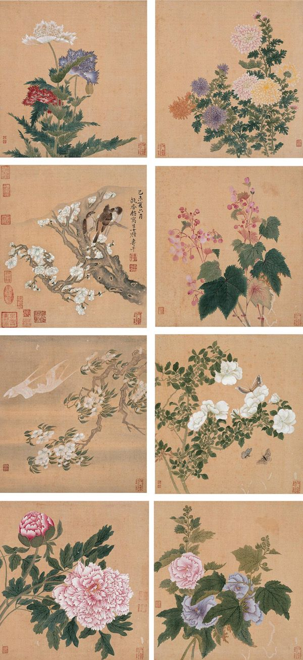 Yun Shouping Paintings | Chinese Art Gallery | China Online Museum