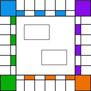 Colorful Border Printable Board Games. Give a like for free printable games.