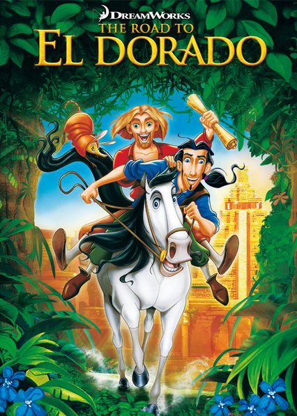Information page about 'The Road to El Dorado' (starring Armand Assante, Kenneth Branagh, Kevin Kline and more) on Canadian Netflix :: from MaFt's New On Netflix Canada