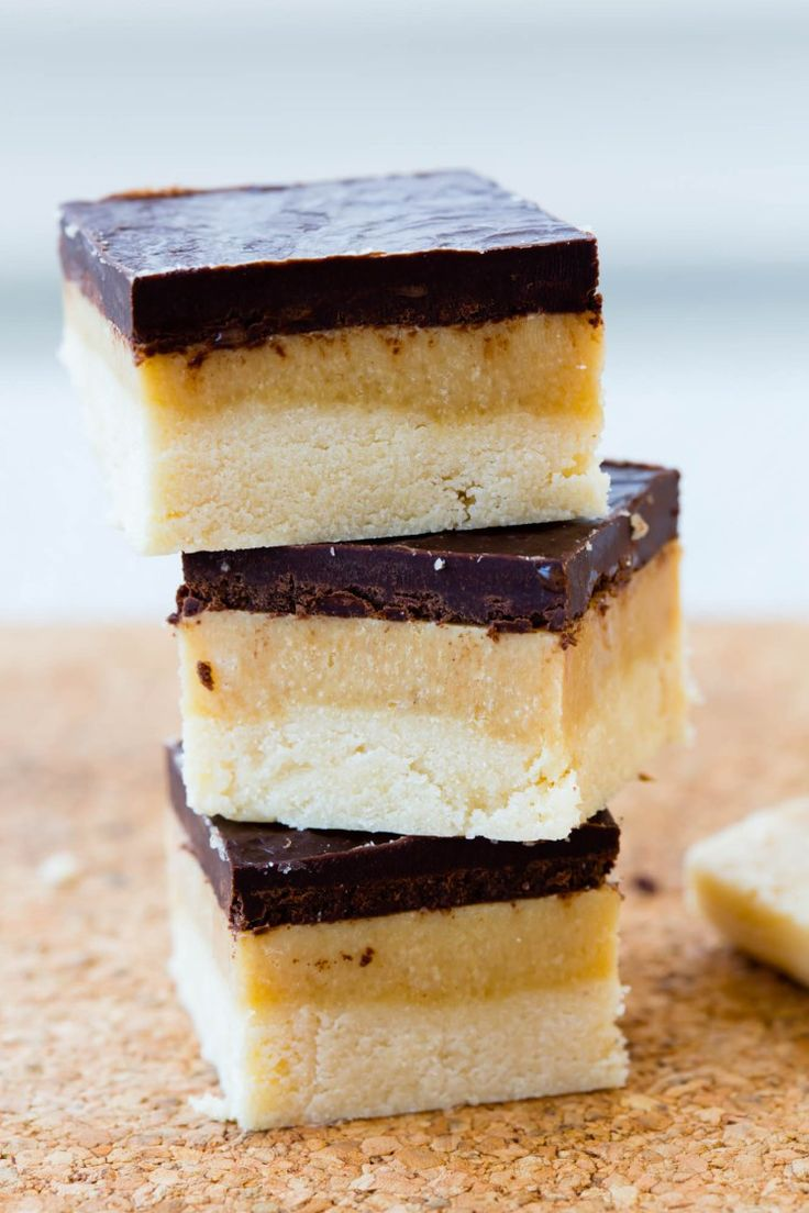 SERIOUSLY, this is the best healthy snack! Thermomix healthy millionaire's shortbread. | Thermomix Baking Blogger