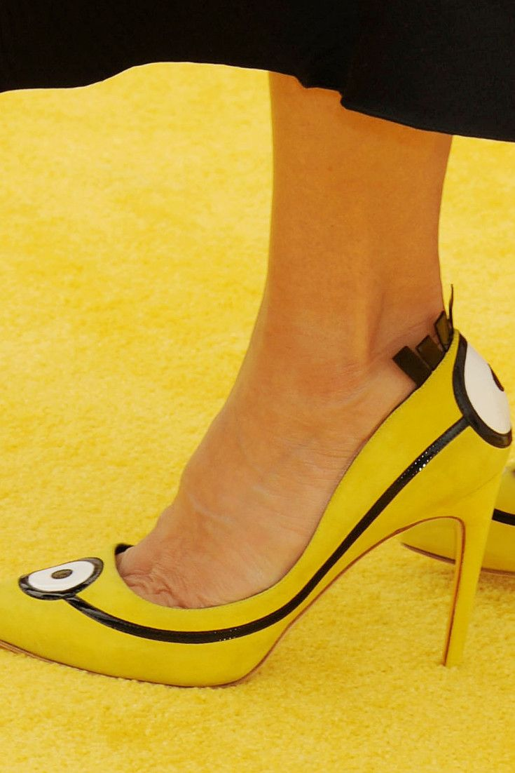 Sandra Bullock's Minion Shoes Auctioned For Charity