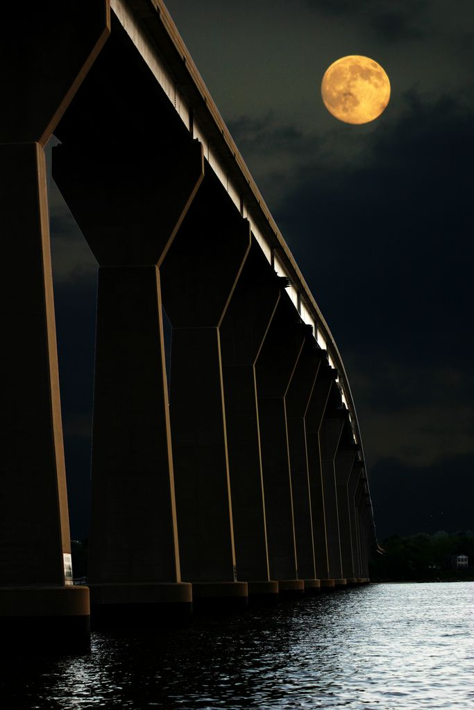 The Thomas Johnson Bridge from Calvert County