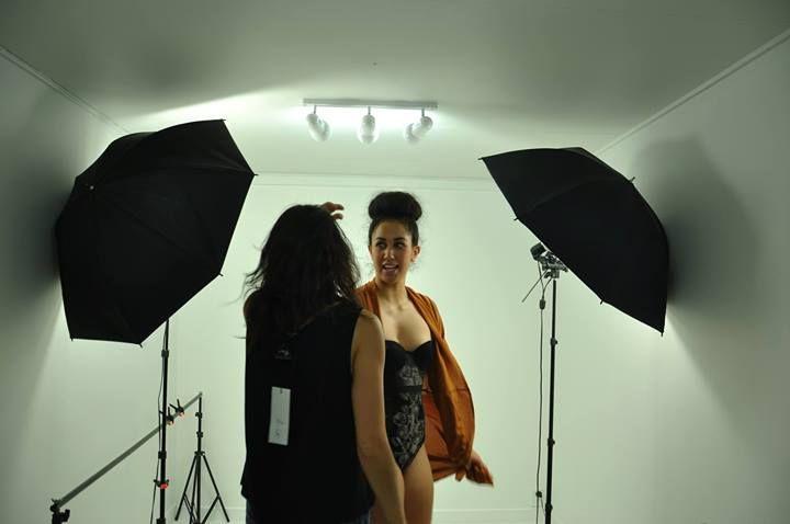 Behind the Scenes on Love Hotel SS14 lookbook shoot. www.lovehotel.co.nz