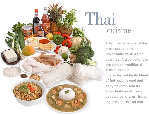 Thai food inspires me to try new things and explore the cuisine of all cultures.