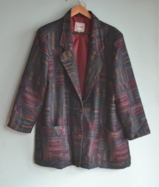 Vintage womens  80 Jacket retro Size L made in Australia
