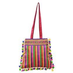 Happy Bright Colorful Handbag