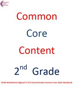 second grade math worksheets and common core math on pinterest. Black Bedroom Furniture Sets. Home Design Ideas